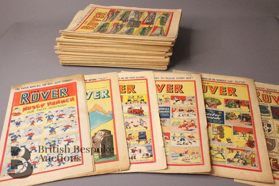 Fifty Eight Rover/Rovers Adventure Comics 1946-61 - Image 4 of 4