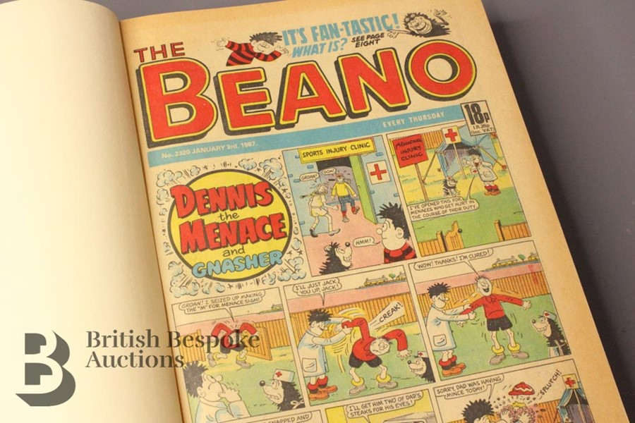 1987 Beano Bound Comics - Image 2 of 5