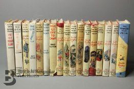 Seventeen Enid Blyton Famous Five Reprints