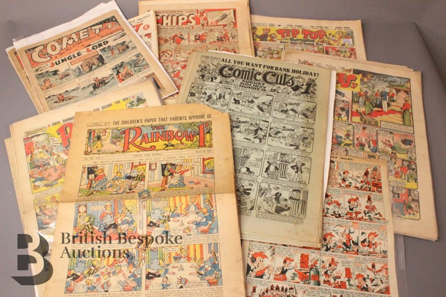 Fifty Two Assorted Comics from 1936