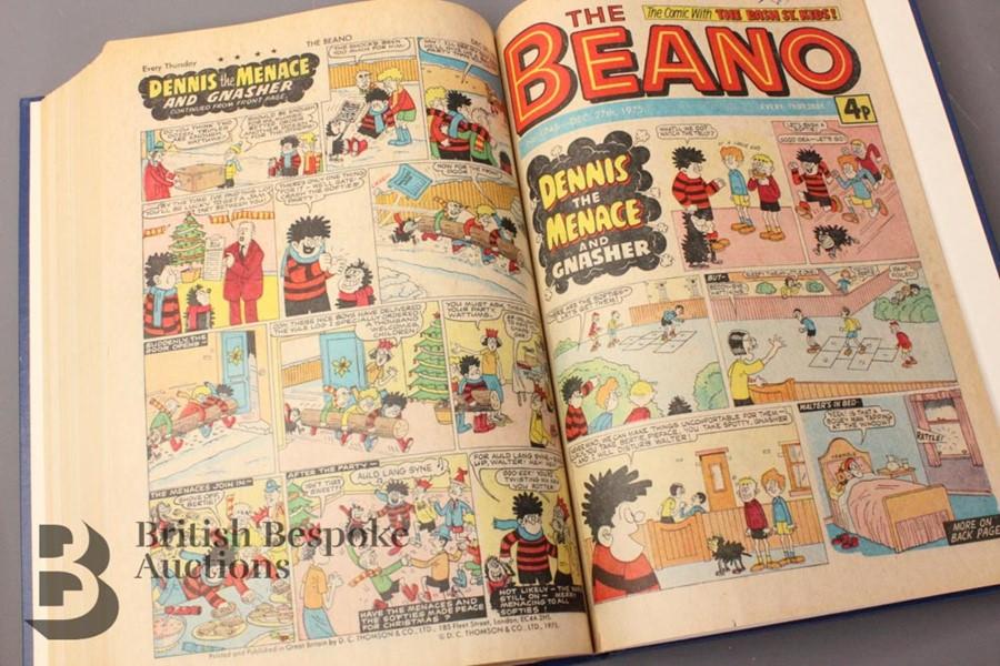 1975 Beano Bound Comics - Image 3 of 9