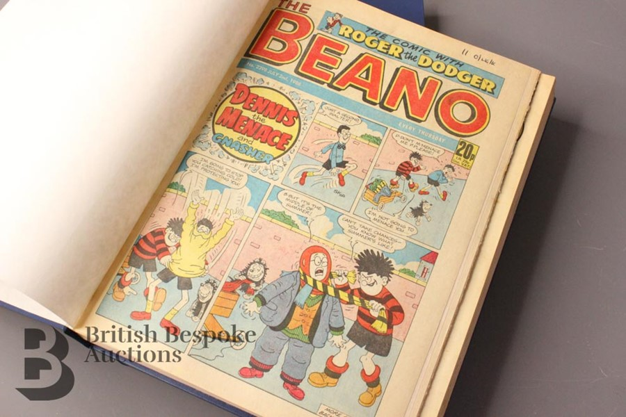 1988 Beano Bound Comics - Image 4 of 7