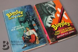 Captain W Johns Two Biggles 1st Edition
