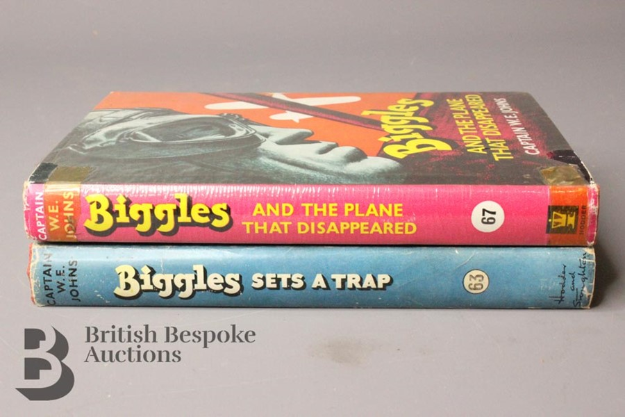 Captain W Johns Two Biggles 1st Edition - Image 3 of 11