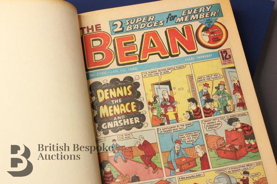 1984 Beano Bound Comics - Image 2 of 4