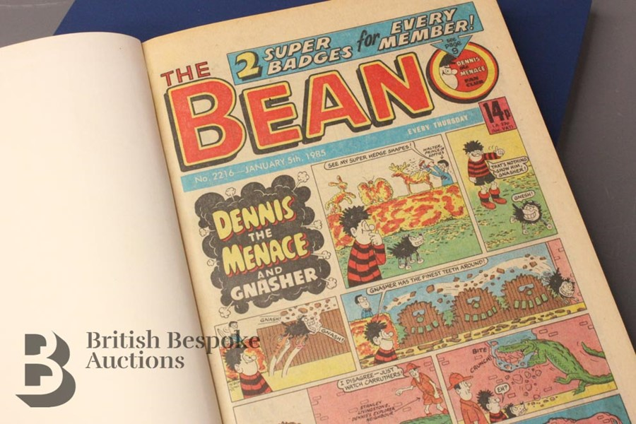 1985 Beano Bound Comics - Image 2 of 4