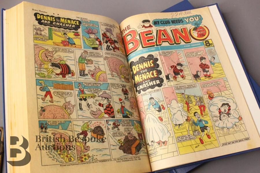 1980 Beano Bound Comics - Image 4 of 5