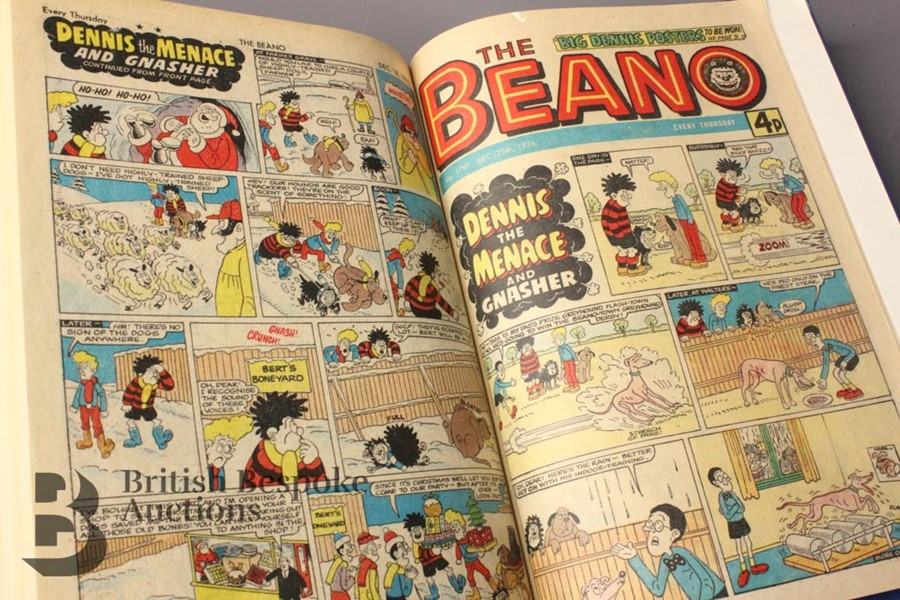 1976 Beano Bound Comics - Image 4 of 4