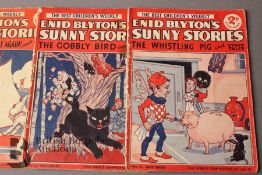 Approx 115 Enid Blyton Sunny Stories Weekly Magazine 1937-1954