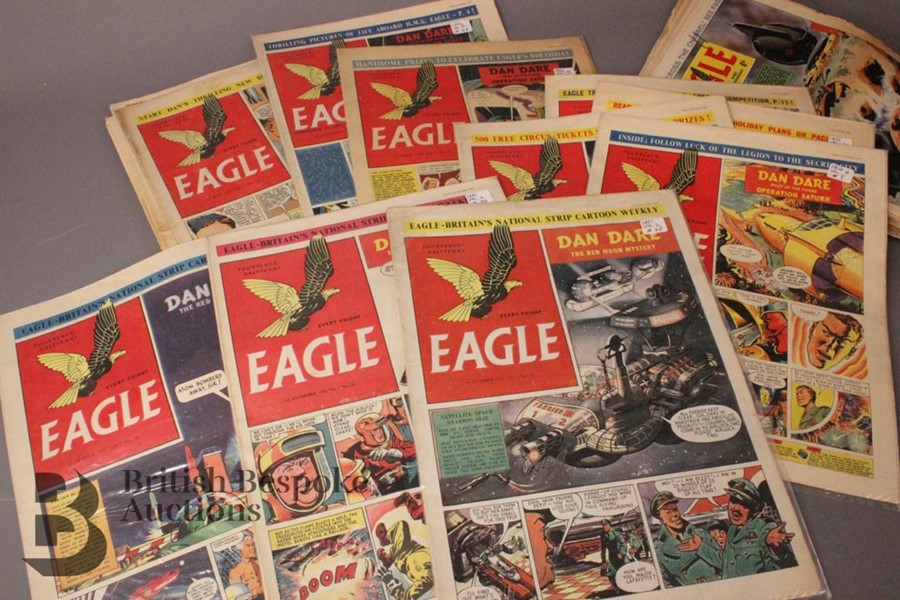 180 Eagle Comics 1950-1966 - Image 4 of 5