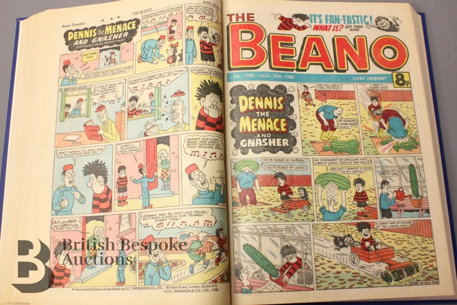 1980 Beano Bound Comics - Image 3 of 5