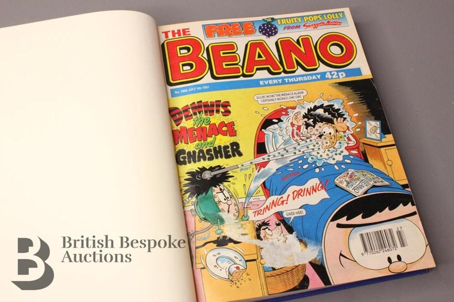 1997 Beano Bound Comics - Image 2 of 4