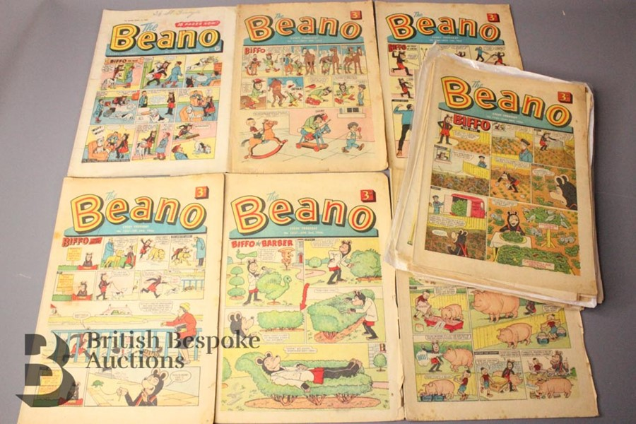 34 Beano Comics 1960-70