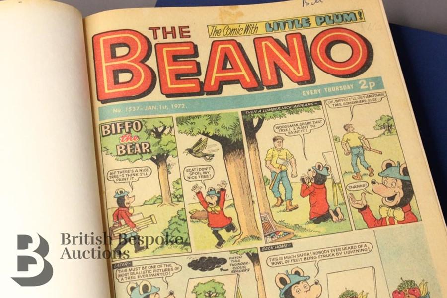 1972 Beano Bound Comics - Image 2 of 7