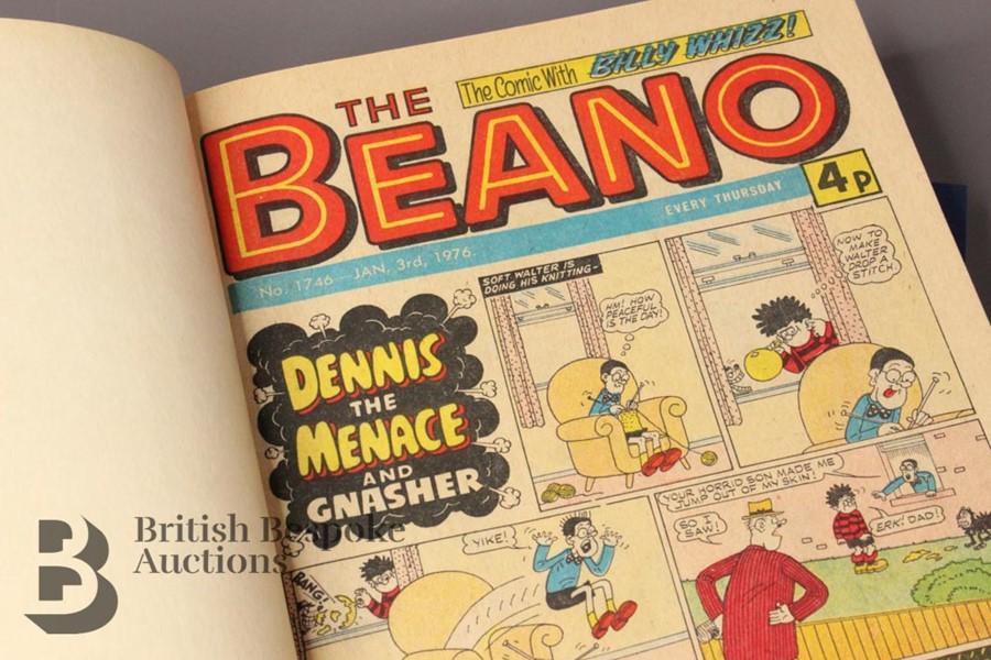 1976 Beano Bound Comics - Image 2 of 4