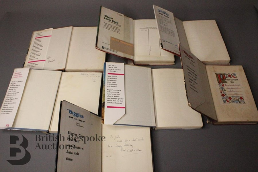 Seven Captain W. Johns Biggles 1st Edition in Dust Jackets - Image 9 of 9