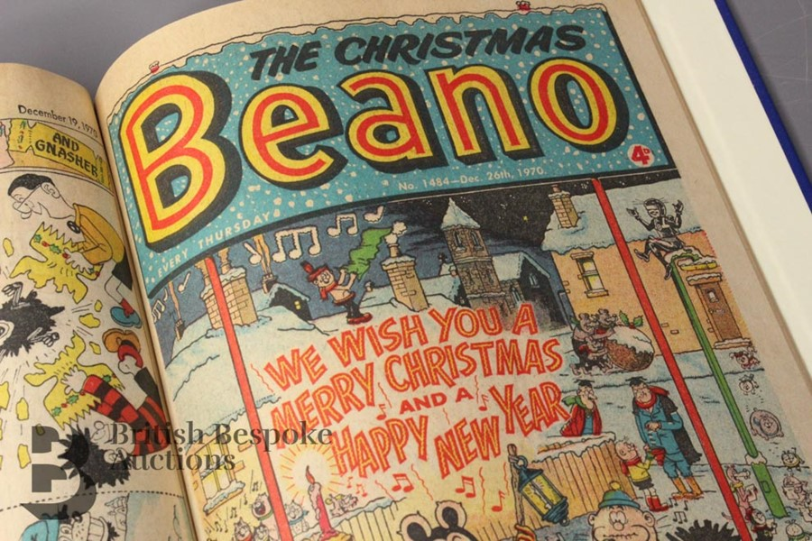 1970 Beano Bound Comics - Image 3 of 4