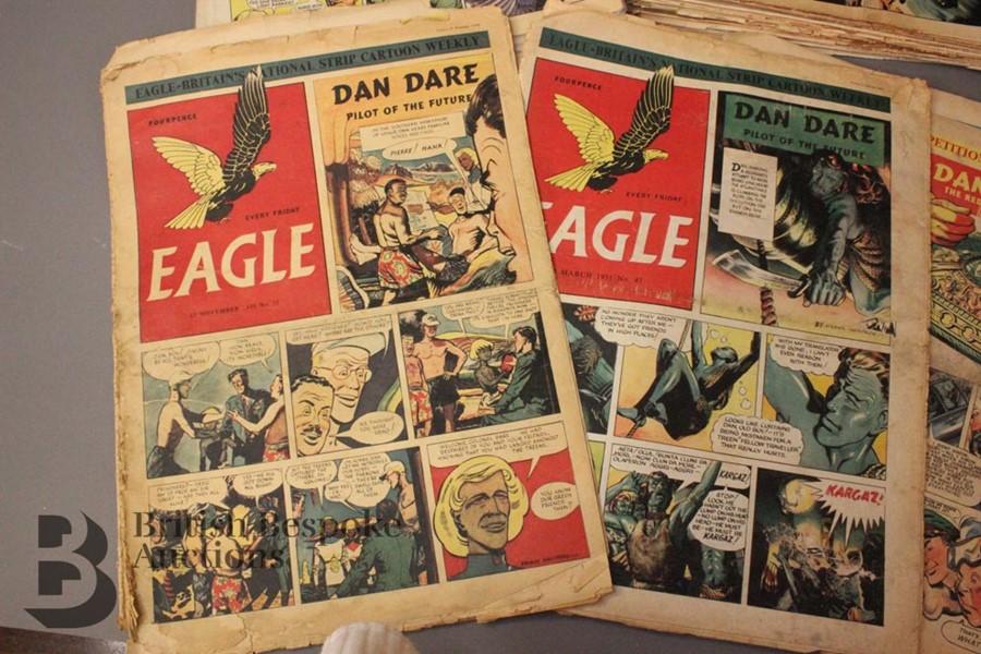 180 Eagle Comics 1950-1966 - Image 2 of 5