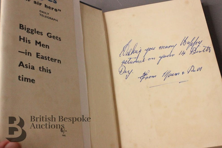 Five W.E Johns Biggles First Editions in Dust Jackets - Image 8 of 8