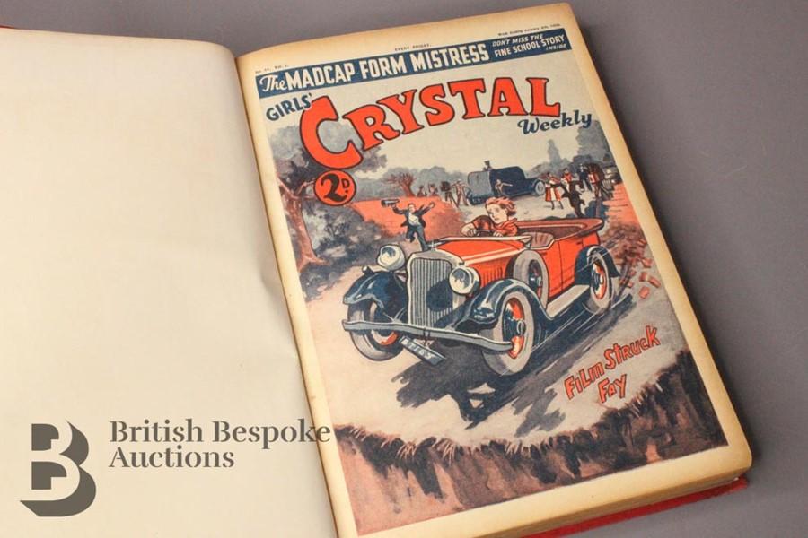 One Bound Volume Girls Crystal 1936 - Image 3 of 5
