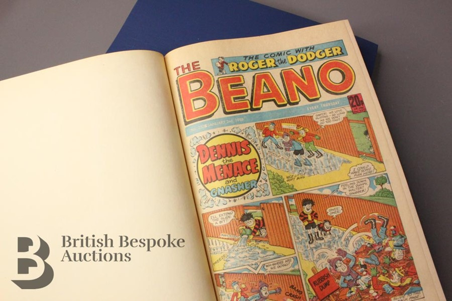 1988 Beano Bound Comics - Image 2 of 7