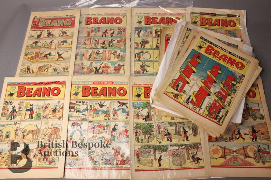 33 1950's Beano Comics - Image 2 of 3