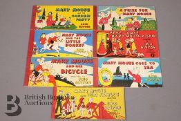 Seven Enid Blyton Mary Mouse Strip Books