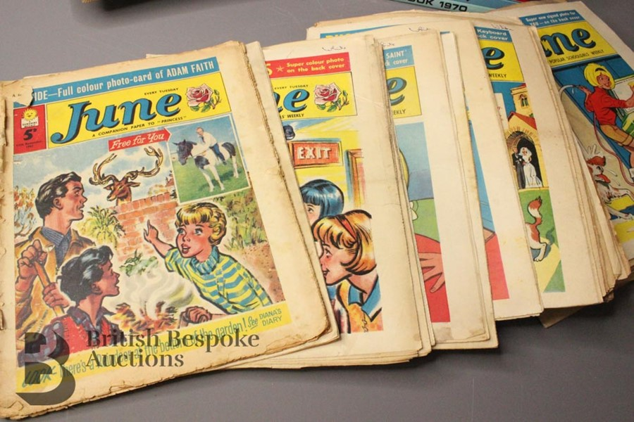 Eighty Issues of June and Judy Comics and Annuals 1965-79 - Image 3 of 4