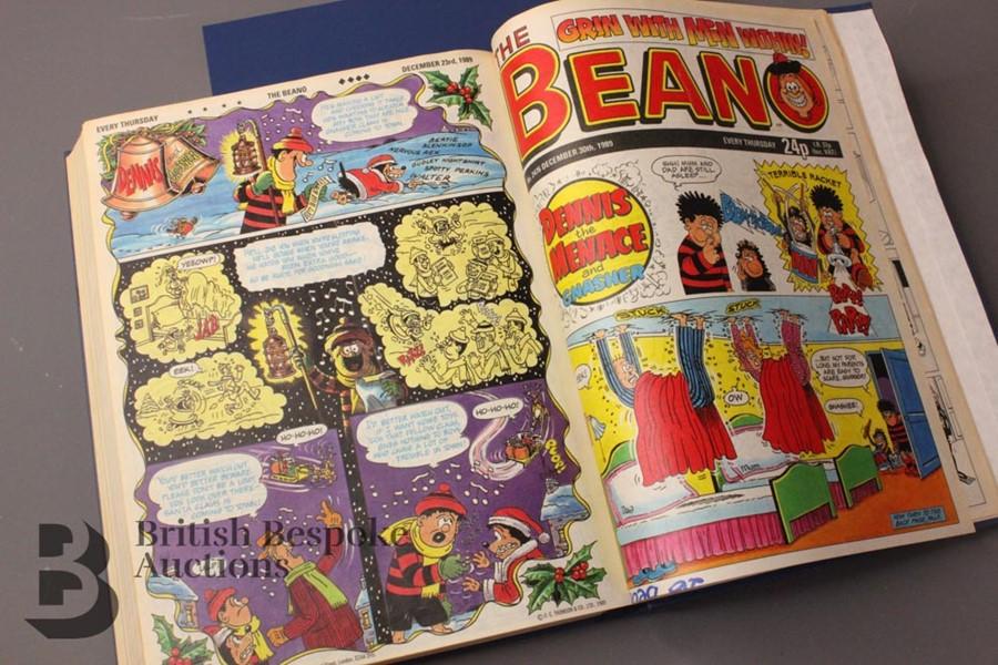 1989 Beano Bound Comics - Image 5 of 5