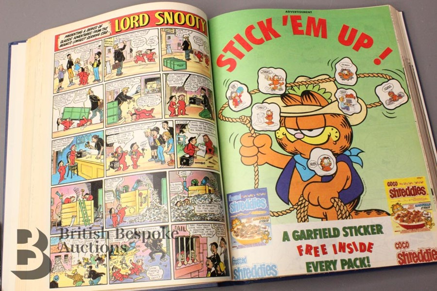 1990 Beano Bound Comics - Image 3 of 4