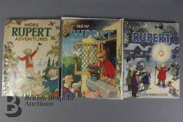Rupert Annuals 1943, 1946 and 1949