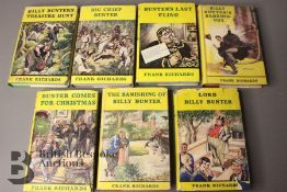 Seven Billy Bunter 1st Editions by Frank Richards in Dust Jackets