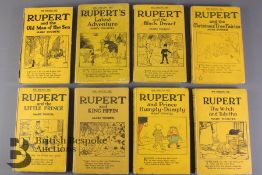 Rupert Little Bear Library Mary Tourtel 1930's Reprints