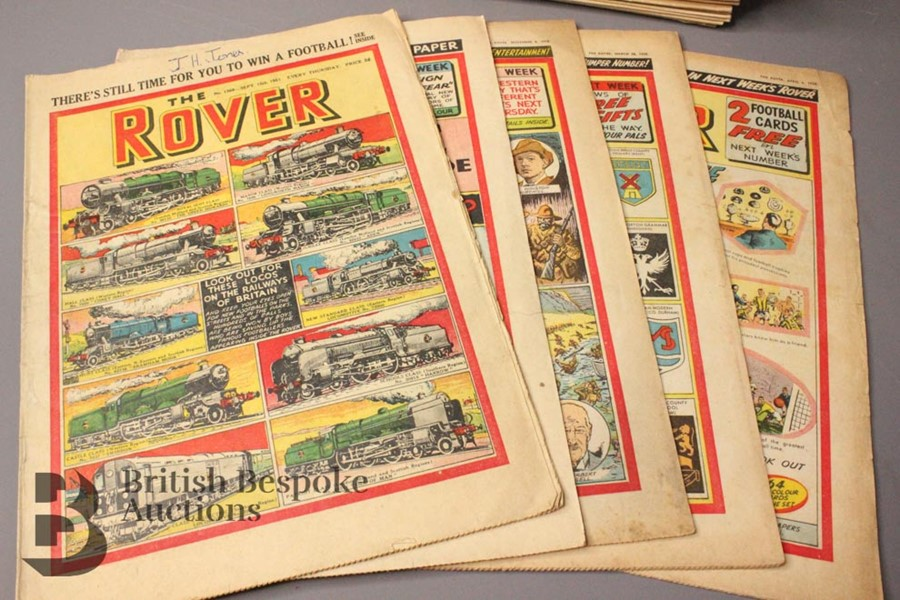 Fifty Eight Rover/Rovers Adventure Comics 1946-61