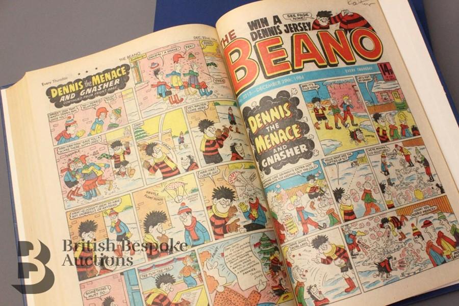 1984 Beano Bound Comics - Image 4 of 4