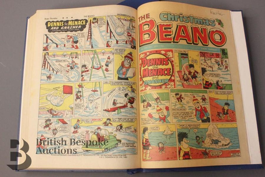 1985 Beano Bound Comics - Image 4 of 4