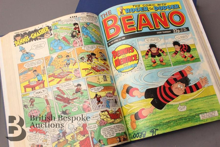 1989 Beano Bound Comics - Image 3 of 5