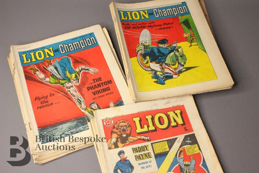 Thirty Six Lion/Lion Champion/Lion Eagle/Lion Thunder and Lion & Valiant 1962-75