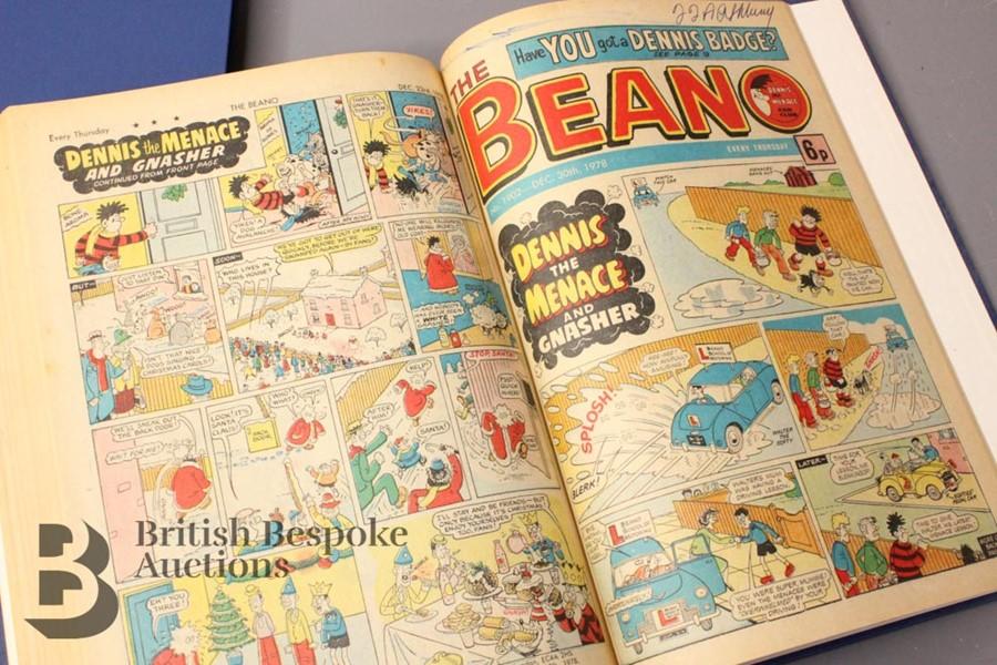 1978 Beano Bound Comics - Image 3 of 4