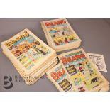 100 Beano Comics 1970-79