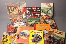 Approx 28 Railway Books for Young Children
