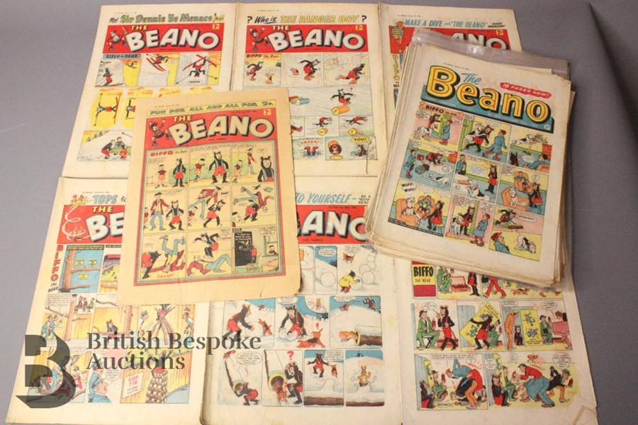 30 Beano Comics 1960-62