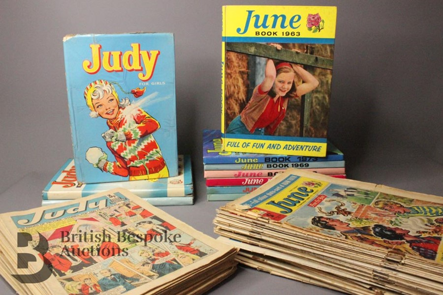 Eighty Issues of June and Judy Comics and Annuals 1965-79