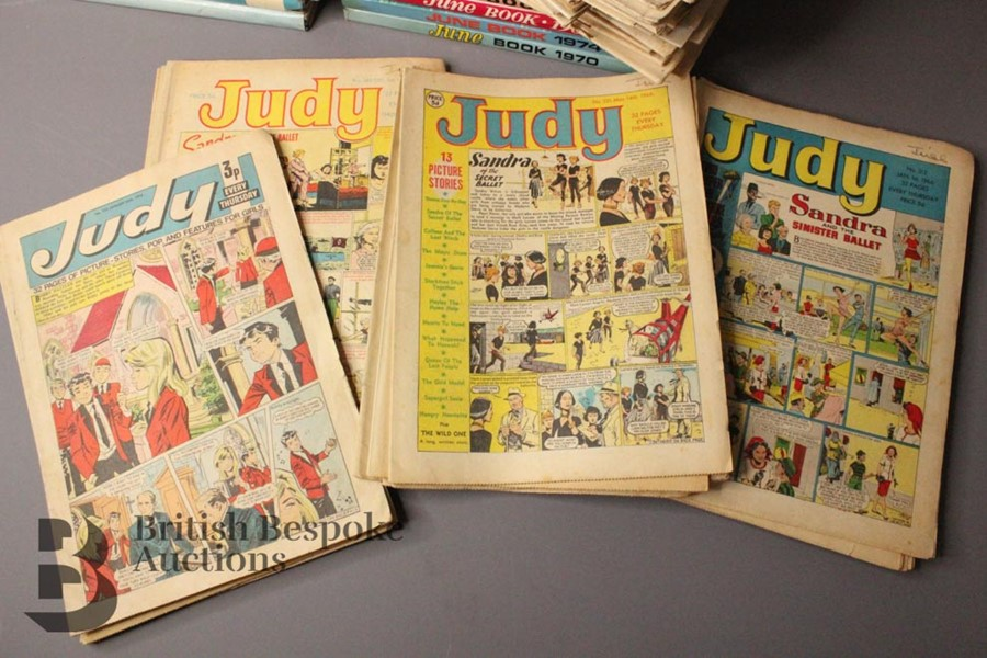 Eighty Issues of June and Judy Comics and Annuals 1965-79 - Image 4 of 4