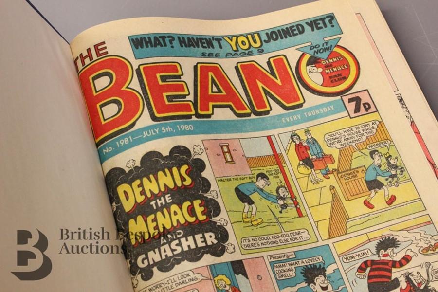 1980 Beano Bound Comics - Image 2 of 5