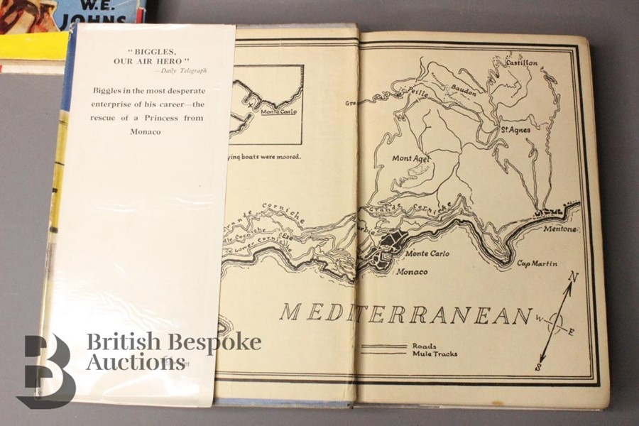 Two Captain W. Johns Biggles Wartime 1st Editions in Dust Jackets - Image 8 of 9