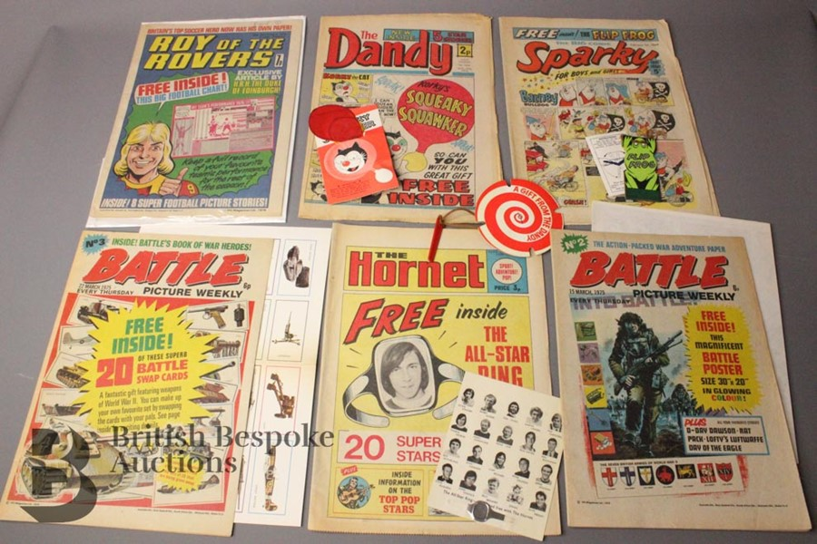 Sixteen 1960 and 1970's Comics with Free Gifts - Image 4 of 4