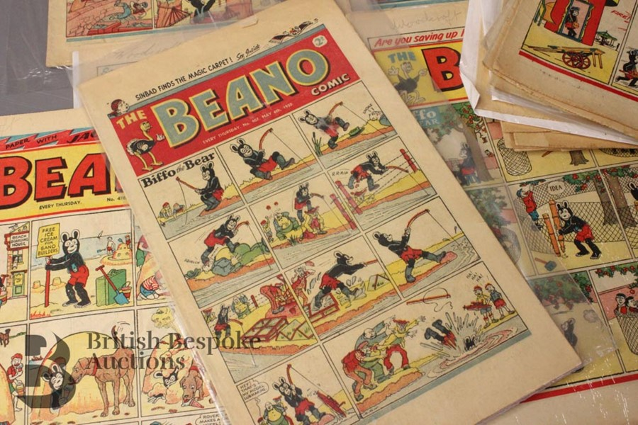 33 1950's Beano Comics - Image 3 of 3