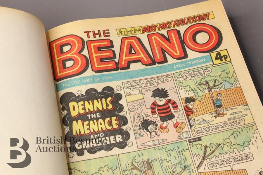 1975 Beano Bound Comics - Image 2 of 9