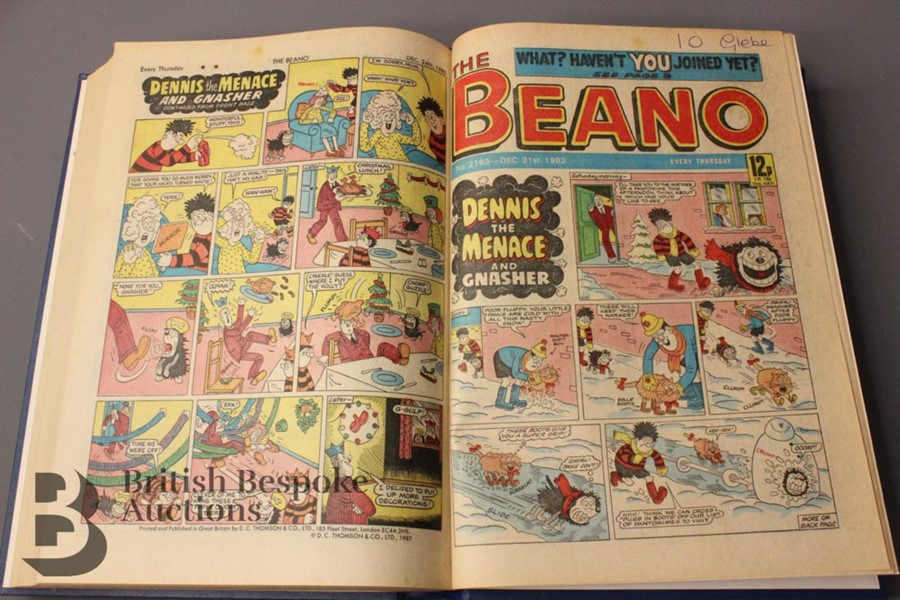 1983 Beano Bound Comics - Image 3 of 3